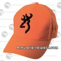 Casquette orange Browning Safety 3D