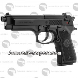 Réplique Beretta US M9 Armed Forces World defender airsoft spring 6 mm