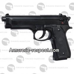 Pistolet airsoft M92 fs noir à ressort