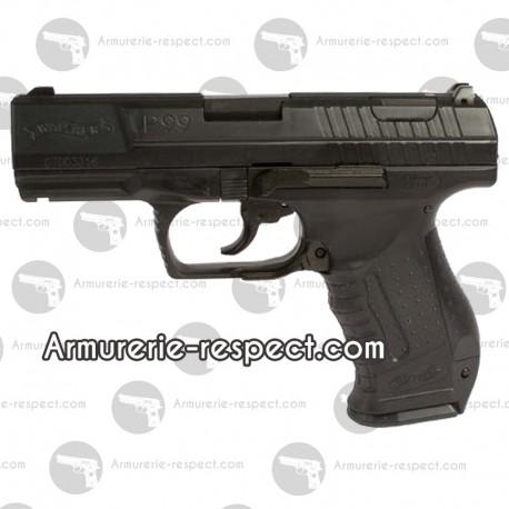 Réplique spring Walther P99 noir airsoft avec 2ème chargeur