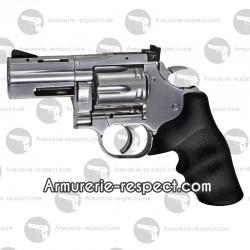 Revolver Dan Wesson 715 à plombs 4.5 mm 2.5 pouces Silver