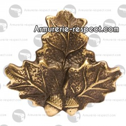 Porte trophée en forme de feuille de chêne petit modèle