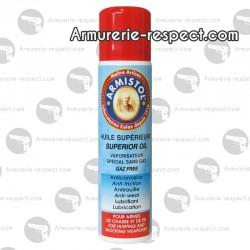 Aérosol sans gaz Armistol huile supérieure 110 ml