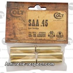 Lot de 6 douilles pour Cold SAA 45 calibre 4.5 mm à billes d'acier