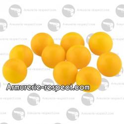 50 billes marquantes peinture jaune ou verte calibre 50
