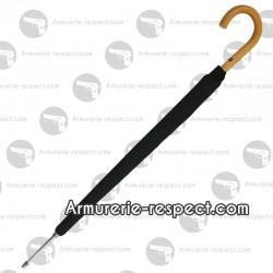 Canne épée vrai parapluie et poignée jonc