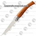 Couteau Opinel effilé n°8 en bubinga
