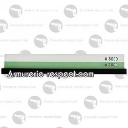 Pierre à aiguiser double face Wusaki 3000/8000
