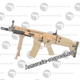 FN SCAR CQC TAN electrique metal 450 billes Energie 1,5 J. Max