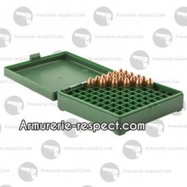 Boite de rangement pour 100 munitions 9x19