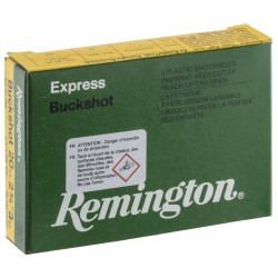 Cartouches Remington Chevrotines - Cal 20/70