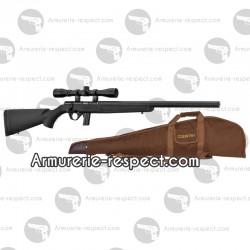 Pack carabine Mossberg silence synthétique 22 LR avec lunette et étui