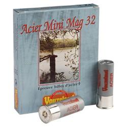 Cartouches Vouzelaud Acier Mini Mag 32 - Cal 12/70