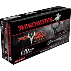 Munitions Winchester Cal 270 WSM - Grande Chasse