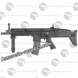 FN SCAR CQC noir electrique metal 450 billes Energie  1,5 J. Max