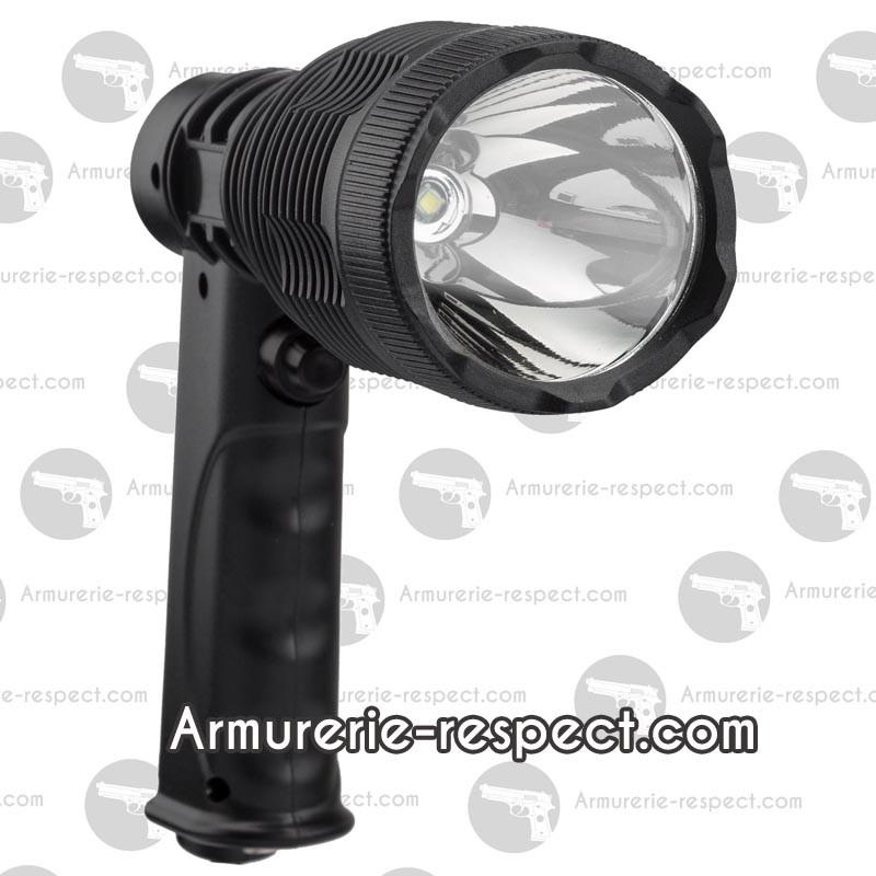 lampe spot projecteur 800 lumens armurerie respect the target sarl. Black Bedroom Furniture Sets. Home Design Ideas