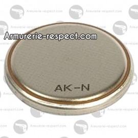 Pile bouton CR2430 de 3V Duracell