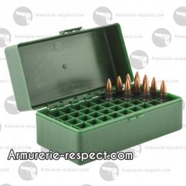 Boite de rangement pour 50 munitions 7.62x39