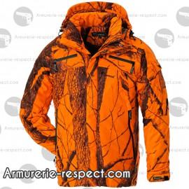 Veste Bear camouflage orange avec coupe-vent Taille XL
