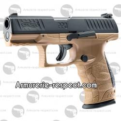 Pistolet de défense Walther PPQ M2 T4E tan cal 43