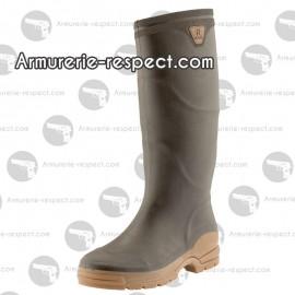 Bottes de chasse de jardin de pluie Rouchette Optimum - Taille 44