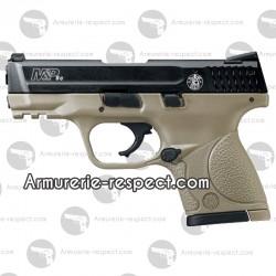Pistolet d'alarme semi auto M&P9C FDE 9 mm