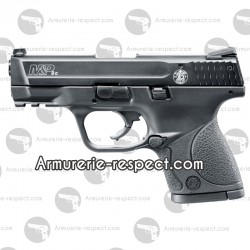 Pistolet d'alarme semi auto M&P9C noir 9 mm