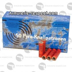 Fusées détonantes 15mm pour armes d'alarme