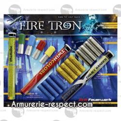 Mélange de 46 fusées Fire Tron 15mm pour armes d'alarme