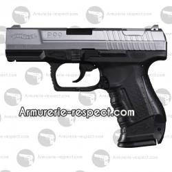 Réplique pistolet airsoft Walther P99 bicolore