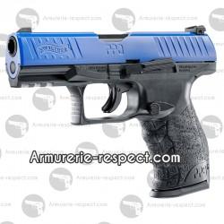 Pistolet de défense Walther PPQ M2 T4E bleu cal 43