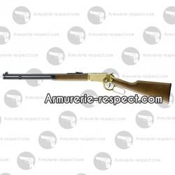 Carabine à plombs Legends Cowboy Rifle dorée 4.5 mm à billes d'acier