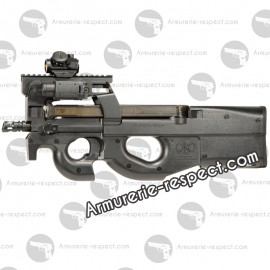 FN P90 Tactical BAX electrique 6mm chassis sup metal 300 billes 1,4 j. Max