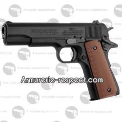 Winchester 1911 blowback full métal à billes d'acier 4.5 mm