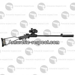 Pack carabine pliante Chiappa Little Badger 22 LR toute équipée