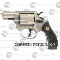 Revolver à blanc 9 mm Smith et Wesson Chiefs special chromé