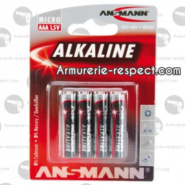 PILE ALCALINE LR03 AAA ANSMANN PILE ALKALINE LR03 AAA ANSMANN