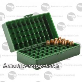 Boite Megaline de rangement 50 munitions 45 ACP