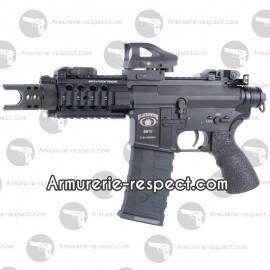 BLACKWATER BW15 Pistol electrique tout metal 360 billes Energie 1,1 J. Max