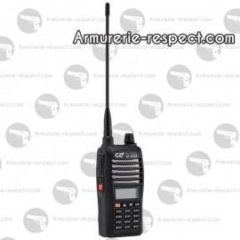 Talkie CRT 3 DB HAM bibande VHF et UHF radio FM