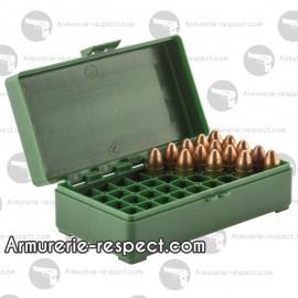 Boite Megaline de rangement 50 munitions 9 x 19