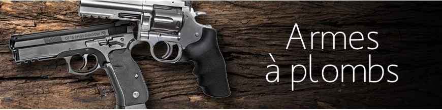 Armes à plombs