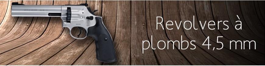 Revolvers à plombs 4.5 mm